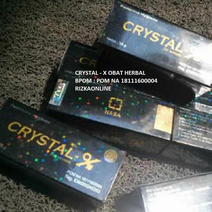 Foto Produk Crystal X - Solusi Obat KEPUTIHAN - Produk Herbal Resmi BPOM dari RizkaOnline