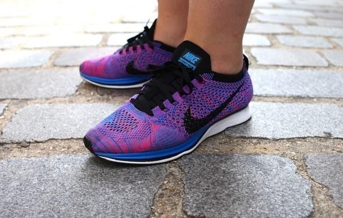 mejor sitio amplia gama diseño de moda Jual BEST SELLER Sneakers Casual Olahraga NIKE Flyknit Racer Purple TERBAR  - Jakarta Barat - wWw.bella.co.id sport | Tokopedia