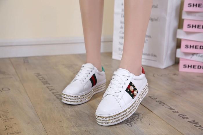 Sepatu Wanita Wedges Shoes Gucci - Info Harga Terkini dan Terlengkap 5fc736c820