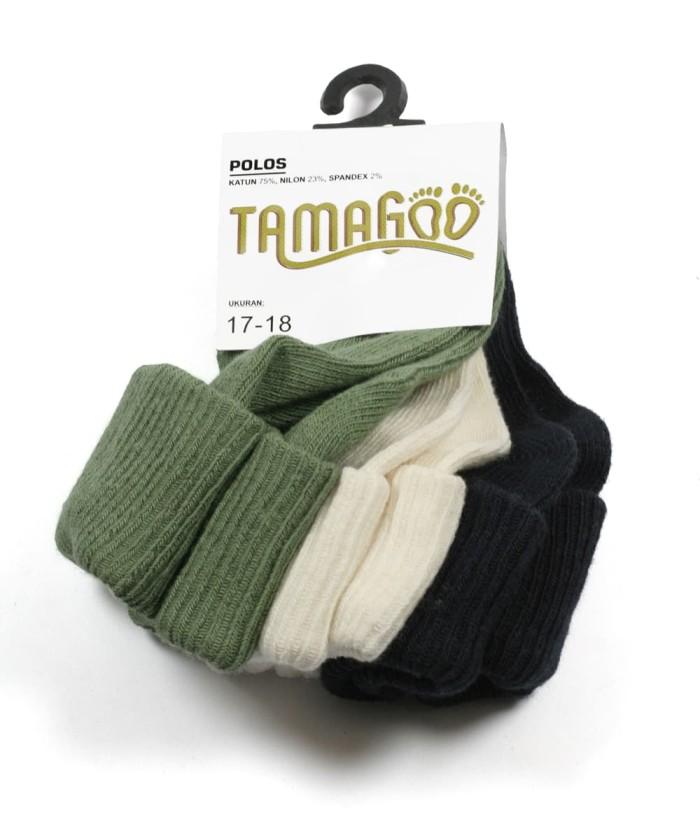 kaos kaki 3pcs/pack prewalker baby anak bahan import tamagoo tot