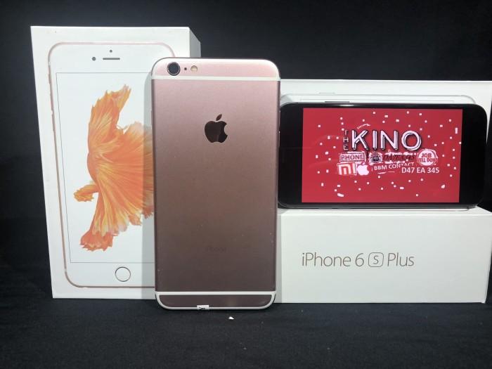 Jual IPhone 6S Plus 16GB second seken Rose Gold - Silver Ex Inter ... d9580eaca6