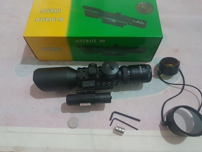 Jual teleskope dan laser merah m ls e toko ikhwan