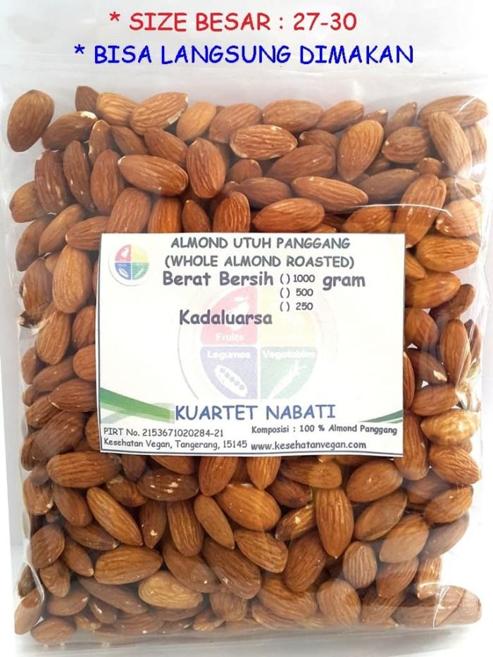 Foto Produk Roasted Almond / Almond Kupas Panggang 1 Kg dari Minimarket Vegan