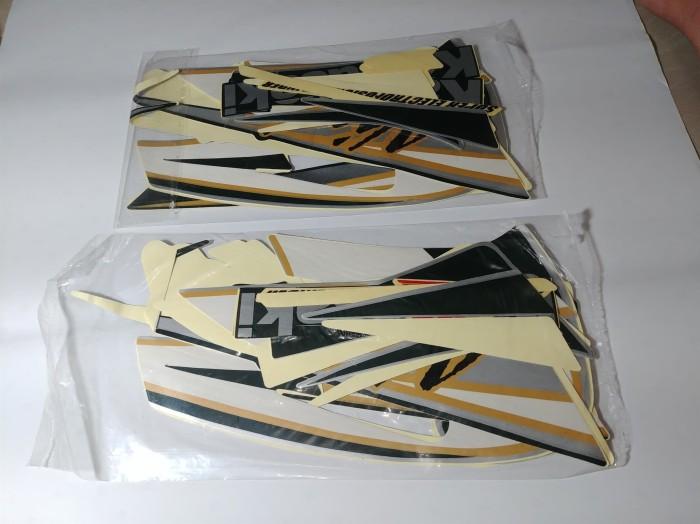 harga Stiker bodi & lis body & striping ninja r 2002 hitam abu Tokopedia.com
