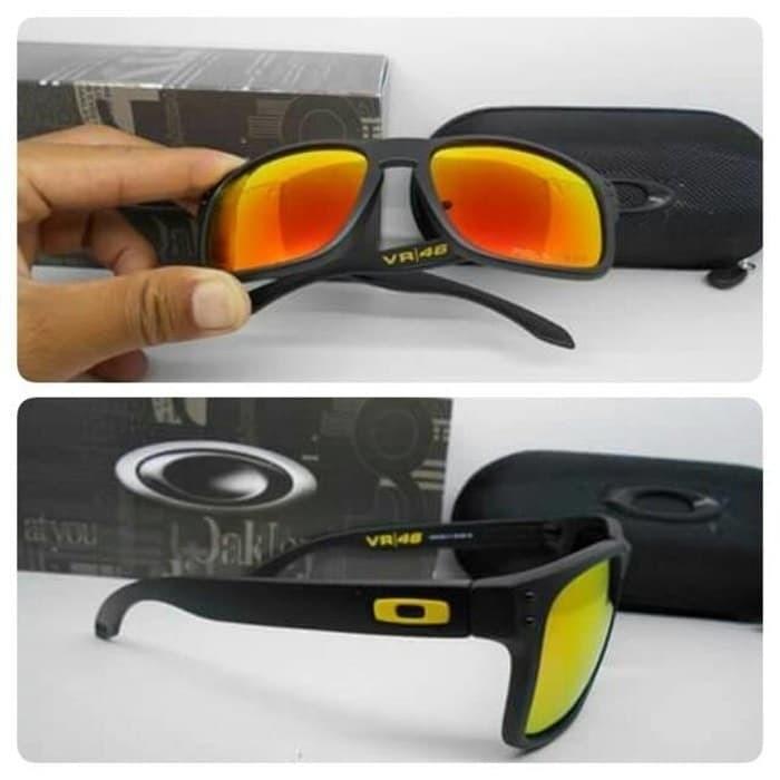 Kacamata oakley holbrook vr46 rossi lensa polarized super premium 427324d46f