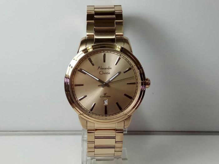 harga Jam tangan pria alexandre christie ac 8556 Tokopedia.com