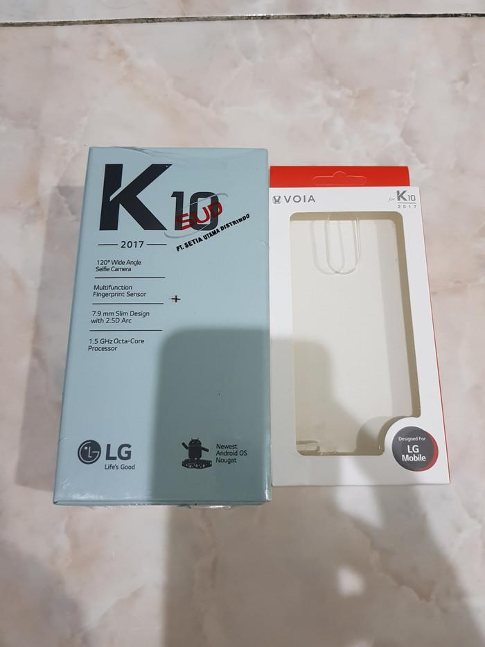 harga Lg k10 2017 garansi resmi -free original case dan micro sd 16gb Tokopedia.com
