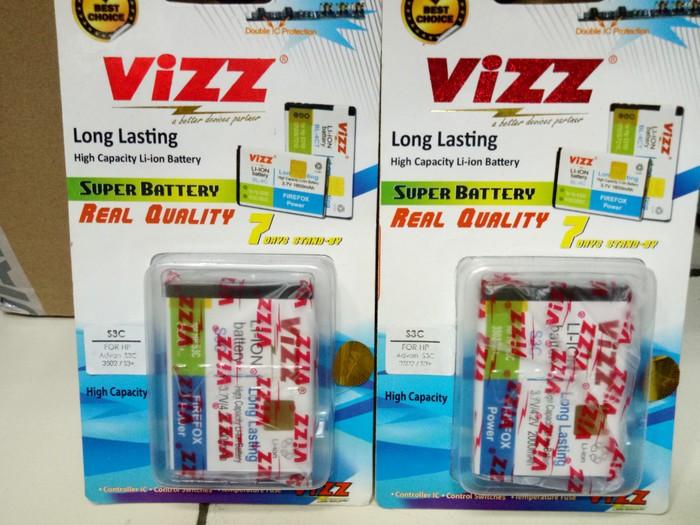 Baterai Battery Batre Vizz Advan S3C S3+ S3Plus 3502 Double Power Ori