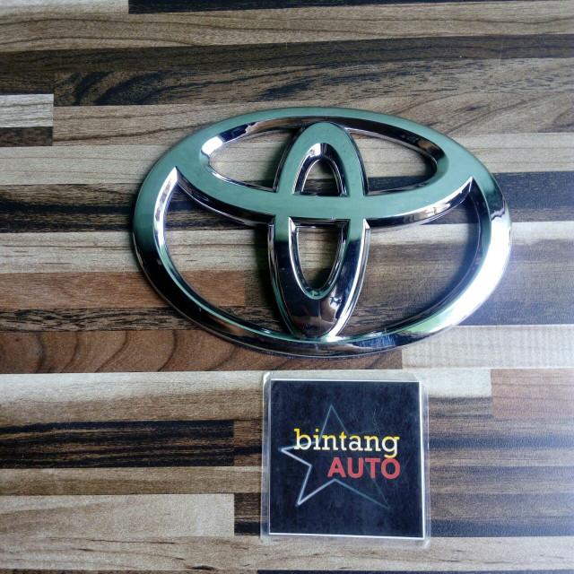 Jual Emblem Logo Toyota Chrome Ukuran 13cm Kota Tangerang Selatan Bintang Auto Tokopedia