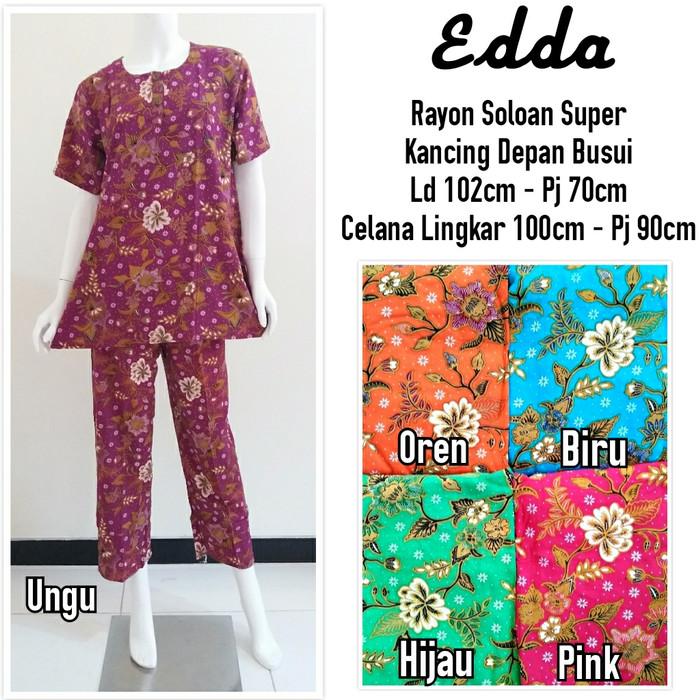 harga Setelan piyama baju tidur batik celana panjang Tokopedia.com