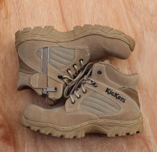 harga Sepatu tactical boots kickers delta safety Tokopedia.com