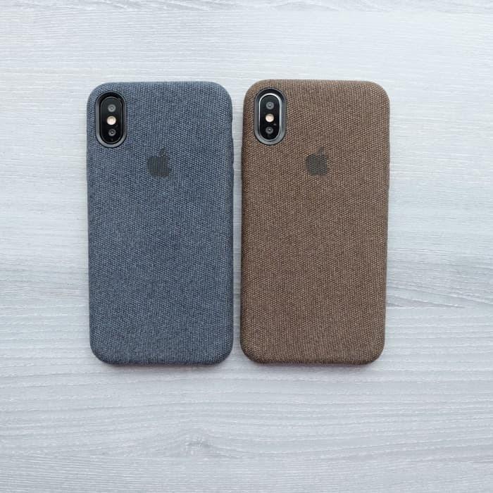 harga Casing canvas iphone 6 / 6s premium hard case cloth skin kain Tokopedia.com