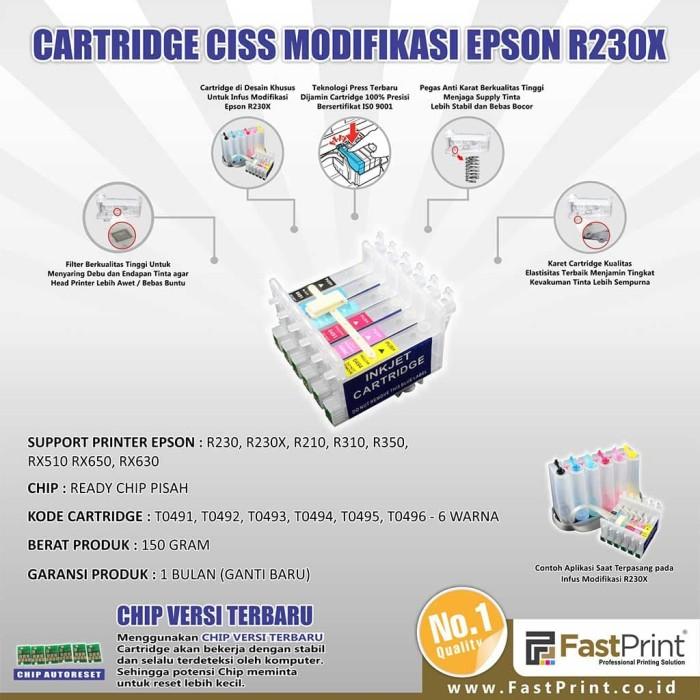 Jual Fast Print Cartridge CISS Epson R310 1 Set - Fast Print ... bfad3277d0