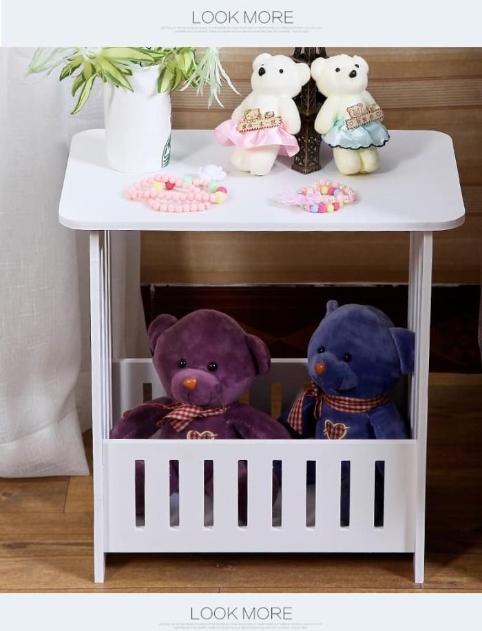 Foto Produk Meja Sudut Coffee Table Meja Ngopi Meja Majalah A554 dari Mega-Persada