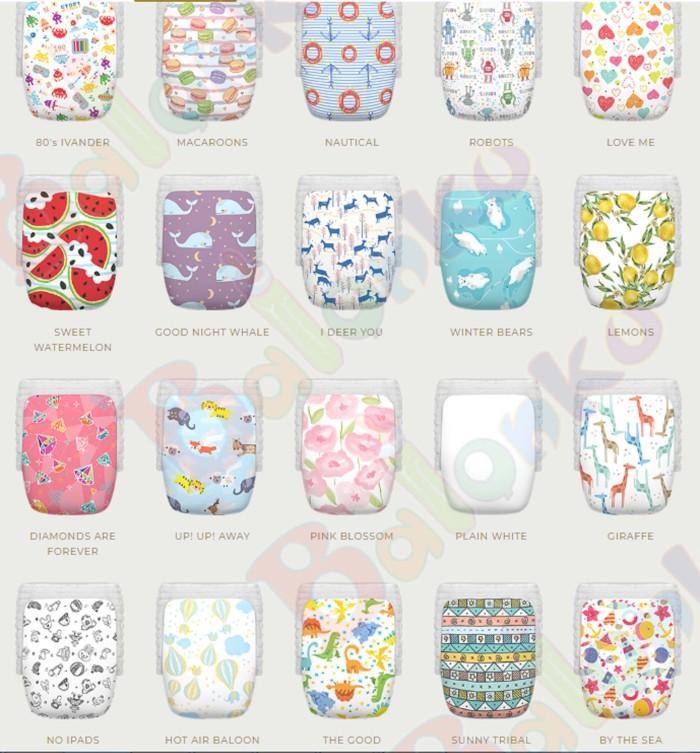 Happy Diaper Pants Size M L XL- Popok Bayi Sekali Pakai - ByTheSea M