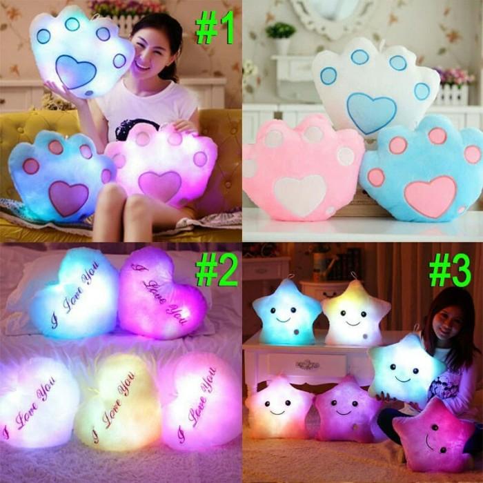 harga Boneka mainan bantal berbentuk bintang dengan lampu led Tokopedia.com