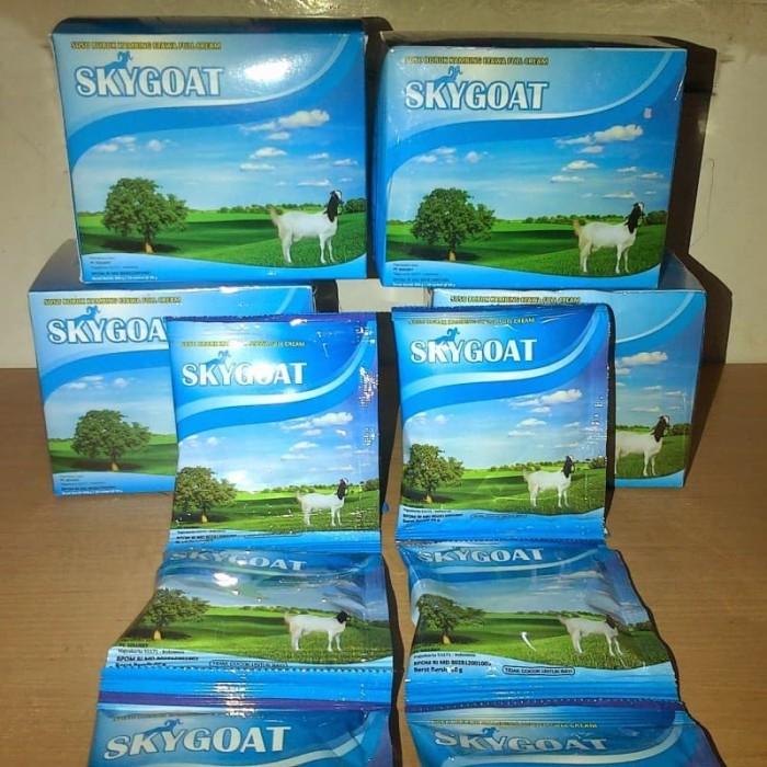 4 box Susu Kambing Skygoat Rasa Original - 1 bok isi 10 saset
