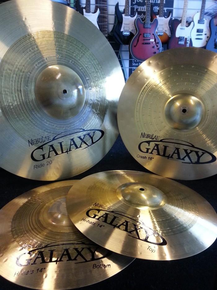 harga Cymbal nebulae galaxy set ( hihat crash ride ) Tokopedia.com