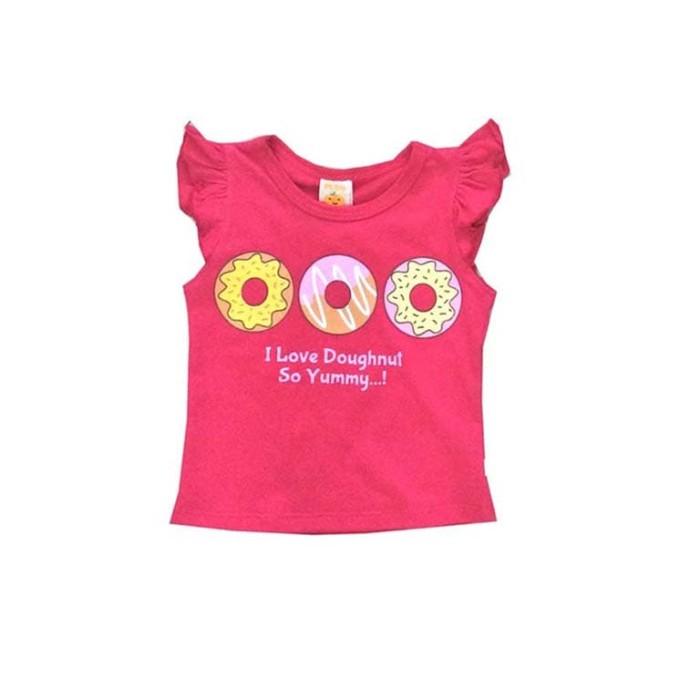 harga Baju bayi perempuan pleu blus-3 doghnut - 3 tahun putih Tokopedia.com