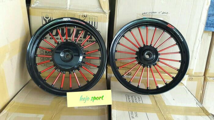 harga Velg top racing pelek andong vario 110 beat scoopy spacy hitam merah Tokopedia.com