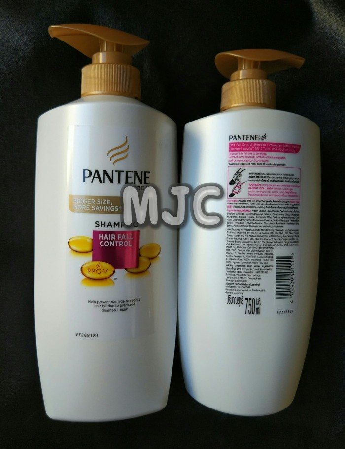 harga Shampoo pantene hair fall control 750 ml Tokopedia.com