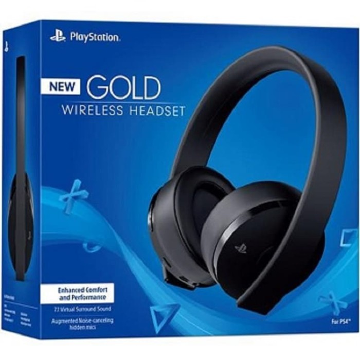 Jual PS4 Headset Gold Original Sony - New Headset Gold PS4 Stereo Wireless  - DKI Jakarta - Techno Strore | Tokopedia