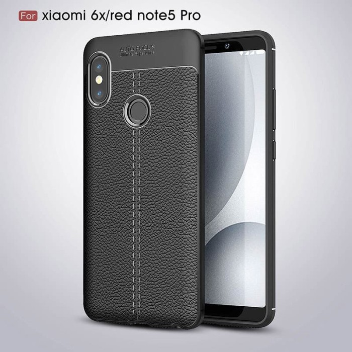 Ini adalah soft case Lichee untuk handphone Xiaomi Redmi Note 5 / Note 5 Pro kesayangan anda. Case dengan aksen tekstur kulit jeruk yang premium, ...