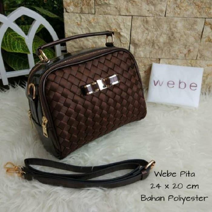 ... harga Tas wanita fashion branded import hand bag webe pita best seller  Tokopedia.com abafe8578f