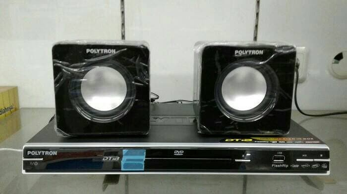 harga Polytron mini home theater dtib 2367 / dvd player + speaker Tokopedia.com