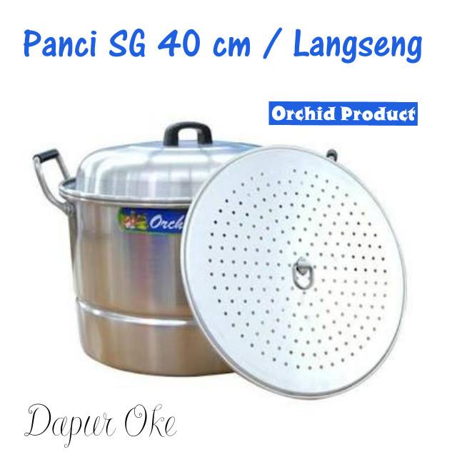 harga Panci serbaguna 40 cm orchid / langseng/kukusan Tokopedia.com