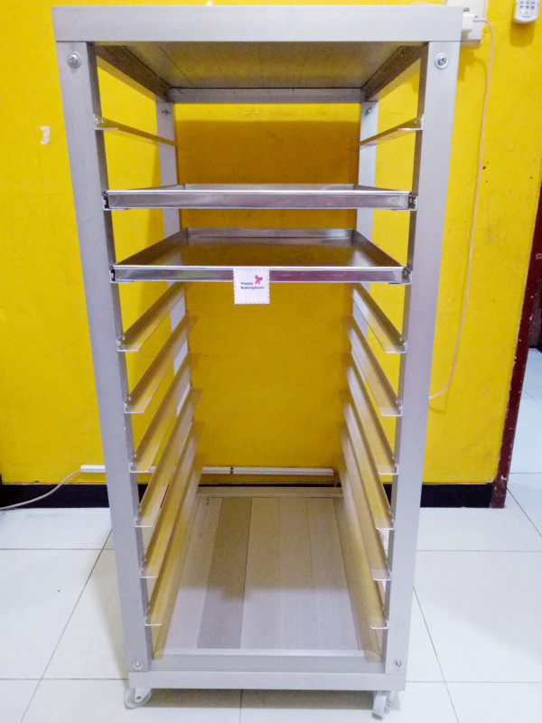 harga Trolley rak kue 15 susun rak tempat roti bakery susun rak kue Tokopedia.com