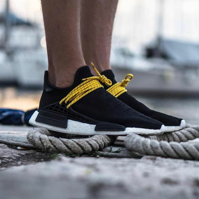 d8f0a13c6 Jual Adidas Nmd Human Race Black Yellow Premium Original   sepatu ...