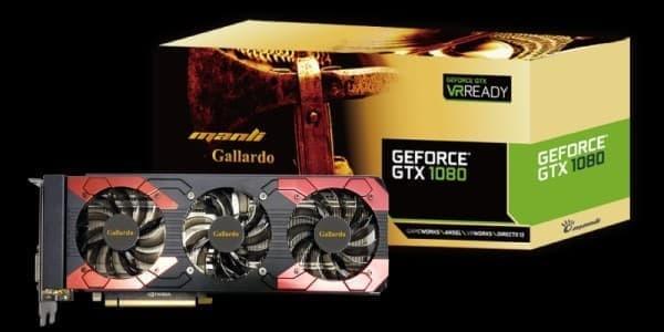 Foto Produk Manli GTX 1080 Gallardo 8GB DDR5X 256 BIT Triple Fan dari One IF Shop