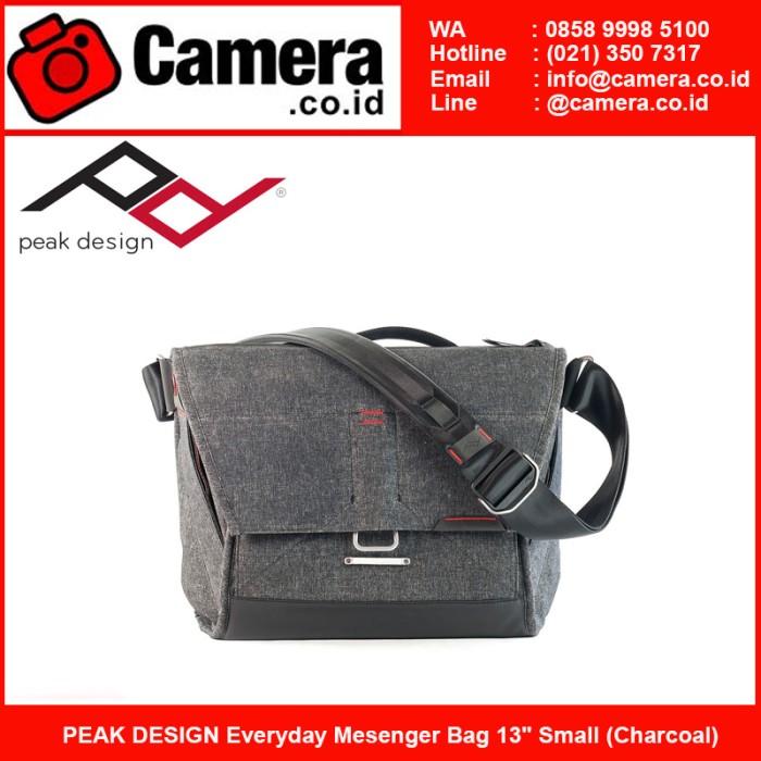harga Peak design everyday mesenger bag 13  small (charcoal) bs-13-bl-1 Tokopedia.com