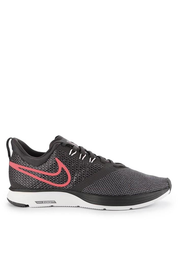 686636ff84a7 Jual Sepatu Nike Zoom Strike Original - Thunder Grey Flash Crimson ...