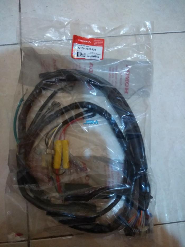 Rangkaian Kabel Stater Megapro