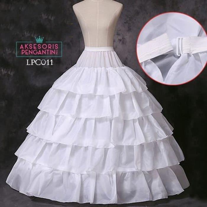harga Petticoat wedding (4 ring 5 layer)l rok dalaman gaun pengantin -lpc011 Tokopedia.com