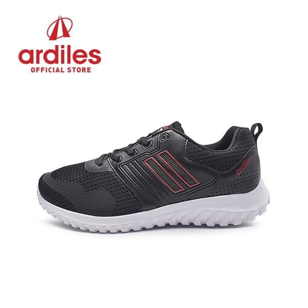 harga Ardiles men walton sepatu running - hitam merah - hitam merah 39 Tokopedia.com