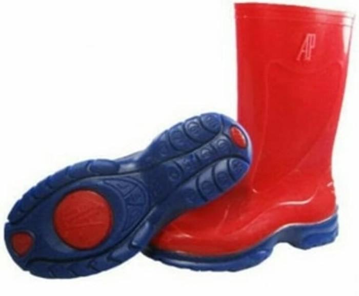 harga Sepatu ap boots anak merah Tokopedia.com