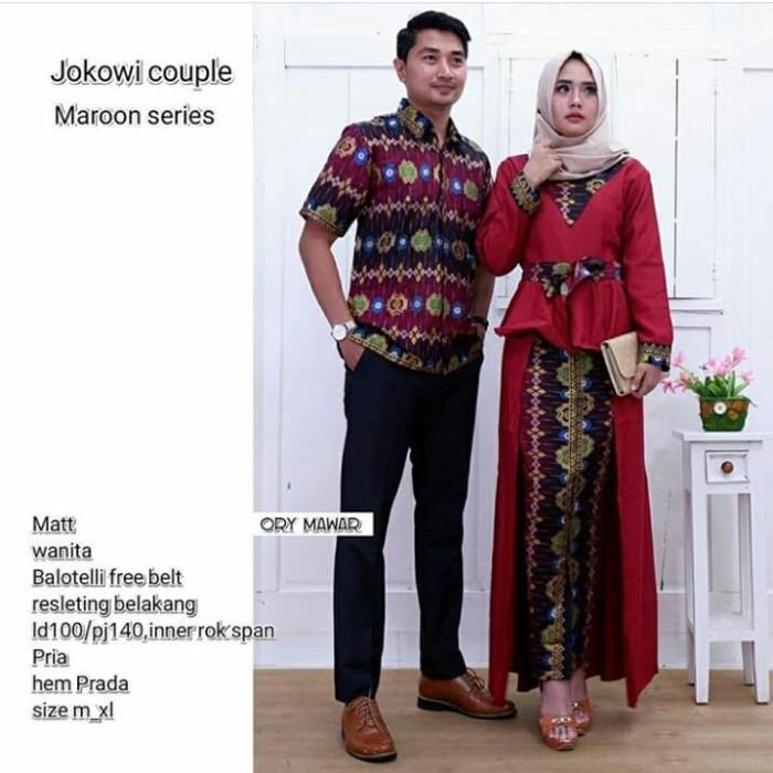 Jual Couple Batik Set Rok Dan Longblus Model Baju Batik Dina Collection Maroon Kab Sidoarjo Batik Modern Dina Tokopedia