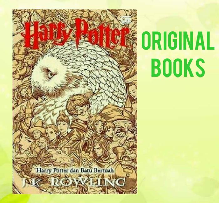 harga Harry potter dan batu bertuah (cover baru) Tokopedia.com
