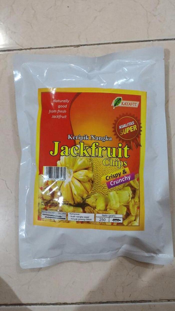 Jual Beli Exclusive Big Sale Keripik Nangka Kayavit 250gr Hot Product Buah Kripik