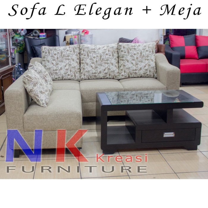 Jual Sofa Kursi Ruang Tamu Minimalis MEJA KAYU CANTIK DKI