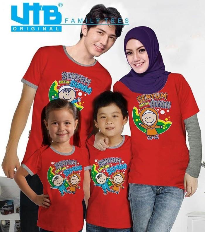 harga Baju Couple Keluarga Family Kaos Tees Anak Ayah Bunda Vt - 023 Blanja.com