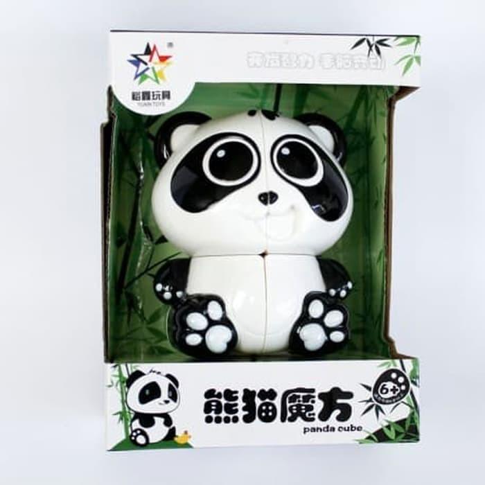 Rubik 2x2 - Yuxin 2x2 Panda Twisty Puzzle - Rubik Unik Panda Series