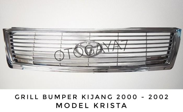 harga Grill bumper kijang 2000 - 2002 model krista Tokopedia.com