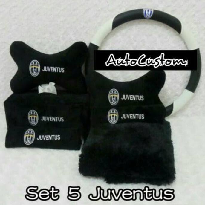 Bantal Jok Mobil Lucu Bantal Mobil 5 In 1 Juventus Fc