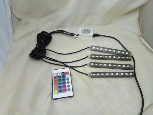harga Lampu kolong dashboard rgb - lampu kolong remote - lampu kolong rgb Tokopedia.com