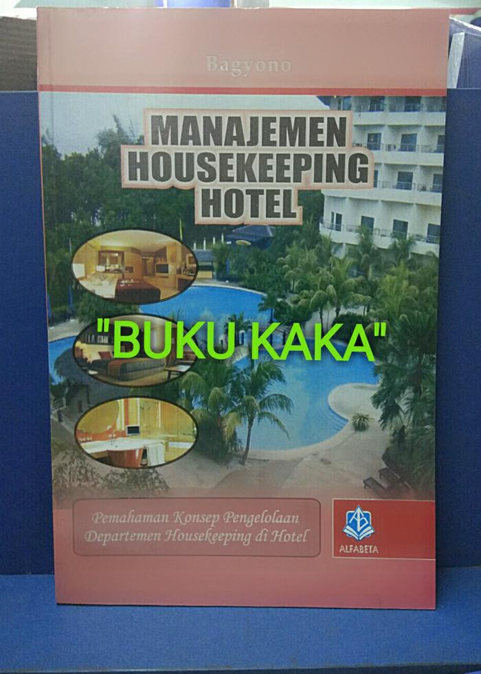 harga Buku manajemen housekeeping hotel bagyono alfabeta Tokopedia.com