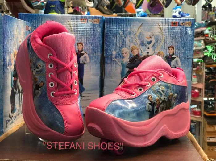 Jual sepatu roda 2 frozen roller shoes 2 in 1 paling murah - rizky ... 0168eae5dc